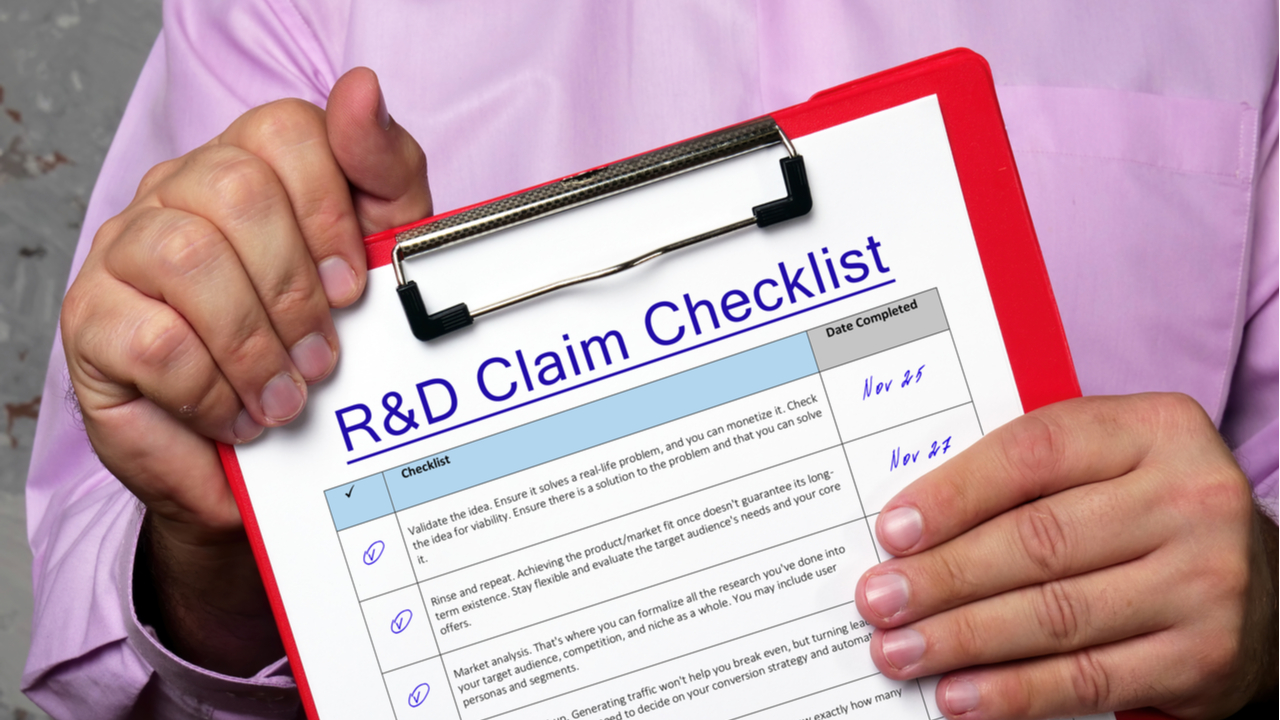 How businesses can use real-time capture to streamline R&D claims